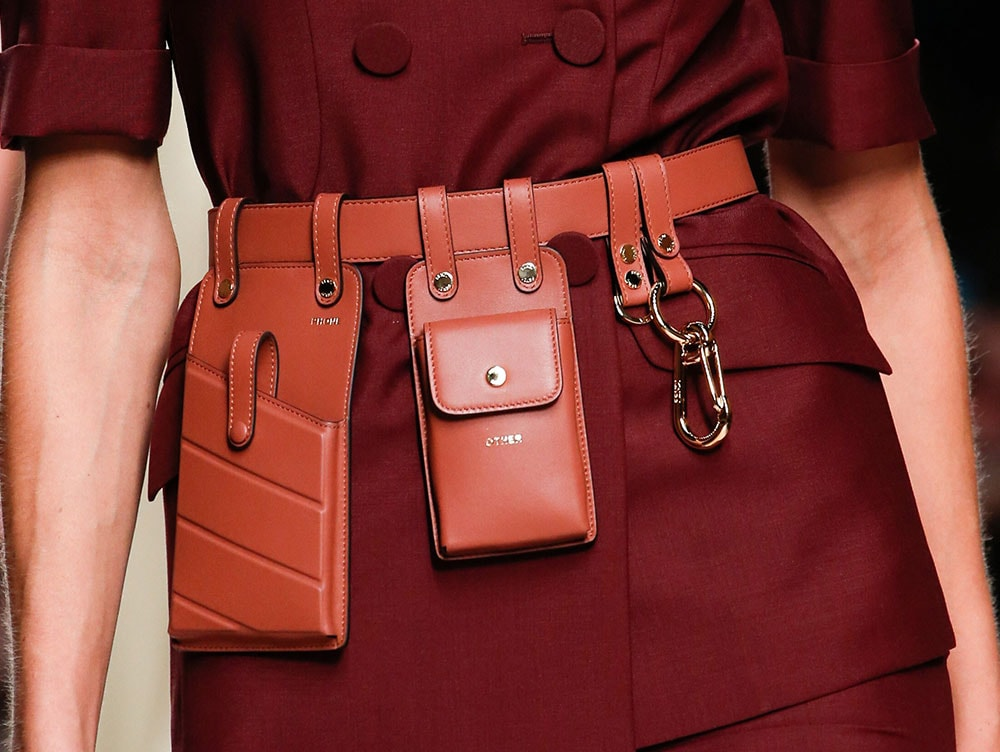 9be77592808e Fendi s Spring 2019 Runway Bags Emphasize Utility Pockets and ...