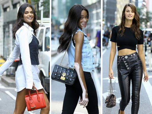 To Audition for the Victoria's Secret Fashion Show, Aspiring Angels Ovewhelming Prefer Dior and Chanel Bags