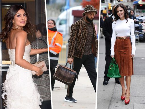 Celebs Carry Fendi, Celine and Louis Vuitton to All of Life's Great Occasions