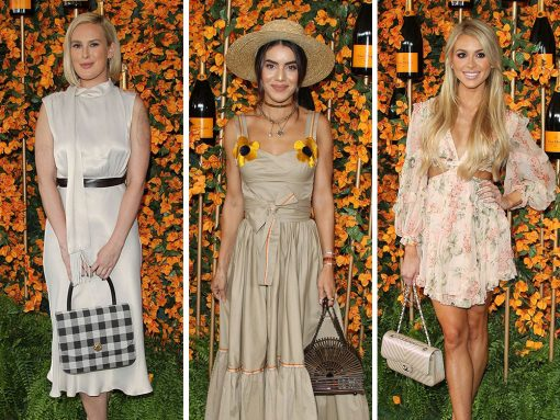 The Best Celeb Bag Picks from the Veuve Clicquot Los Angeles Polo Classic 2018 Arrivals