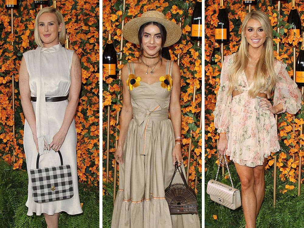 f66170b73c8 The Best Celeb Bag Picks from the Veuve Clicquot Los Angeles Polo Classic  2018 Arrivals