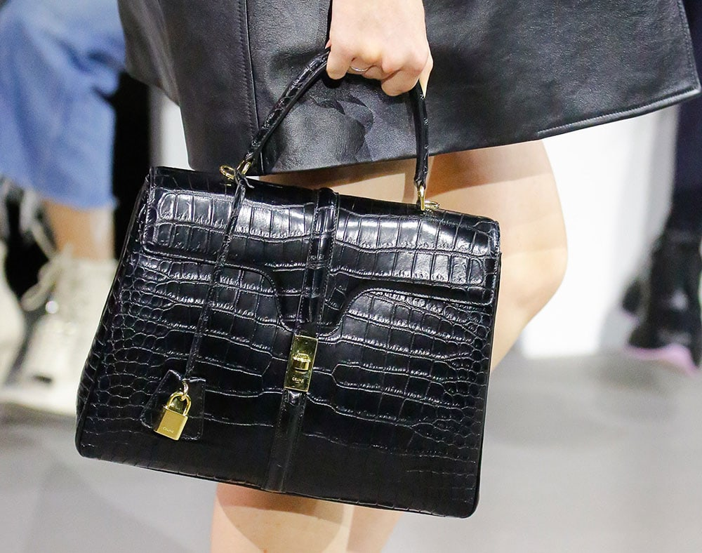 3bf274d6b092 Check Out Hedi Slimane s First Runway Bags for Céline