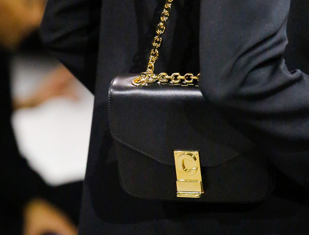 0a972f49cc Check Out Hedi Slimane s First Runway Bags for Céline