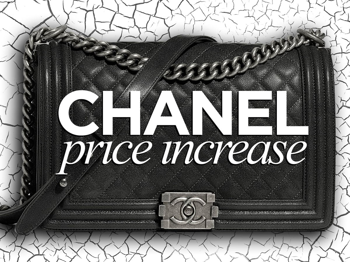 db3ecc9b61dd A Chanel Price Increase on Timeless Classics Hits November 1st