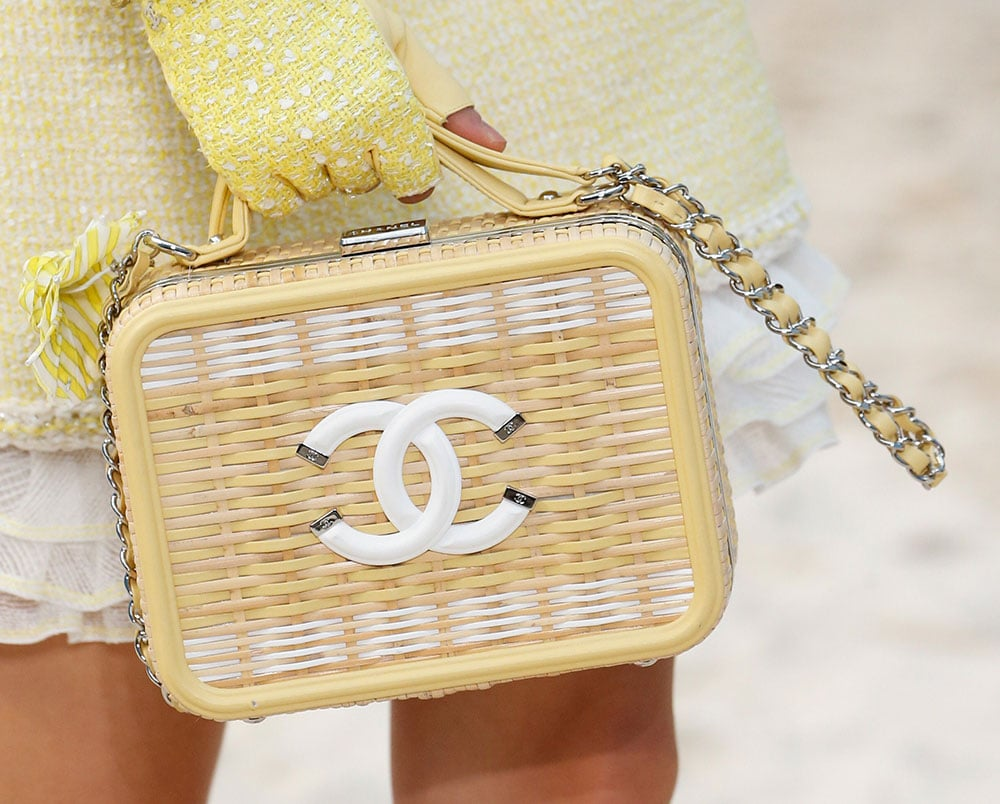 833845694ad3 Chanel Took Its Spring 2019 Collection to the Beach, Including Terrycloth  Flap Bags and Beach Ball Clutches | PurseBlog.com | Bloglovin'