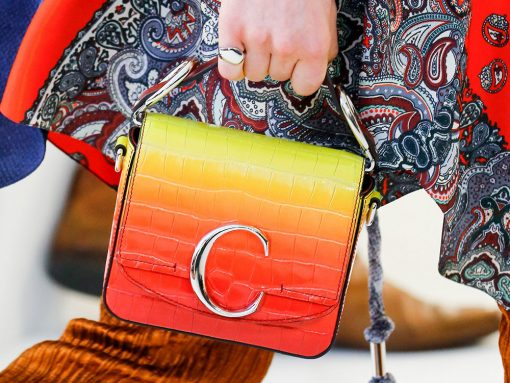 Chloe's Spring 2019 Bags Double Down on the Brand's New C Logo Hardware