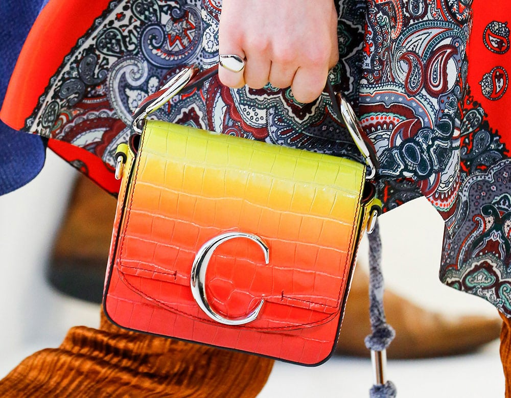 555e6ad39f94 Chloe s Spring 2019 Bags Double Down on the Brand s New C Logo ...