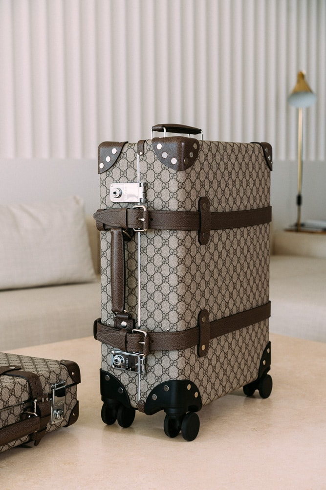 Gucci Collaborates With Globe Trotter On Functional New