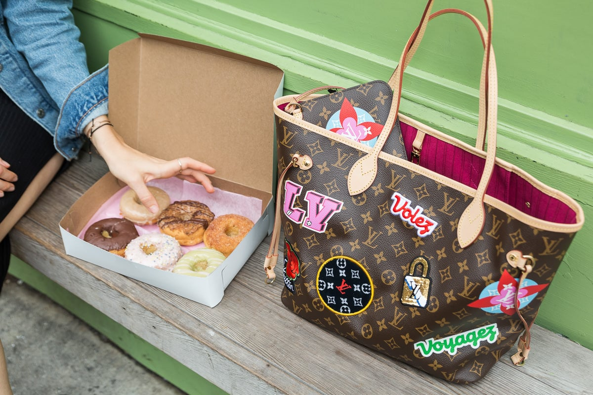 A Day With the Louis Vuitton Patches Neverfull MM - PurseBlog 210fb4e692