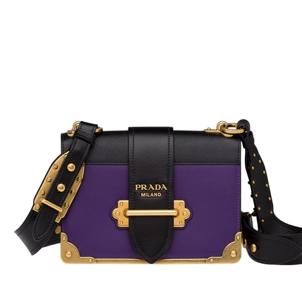 2cc5edde2a62 The Prada Cahier is the Effortlessly Cool Bag You Need This Fall ...