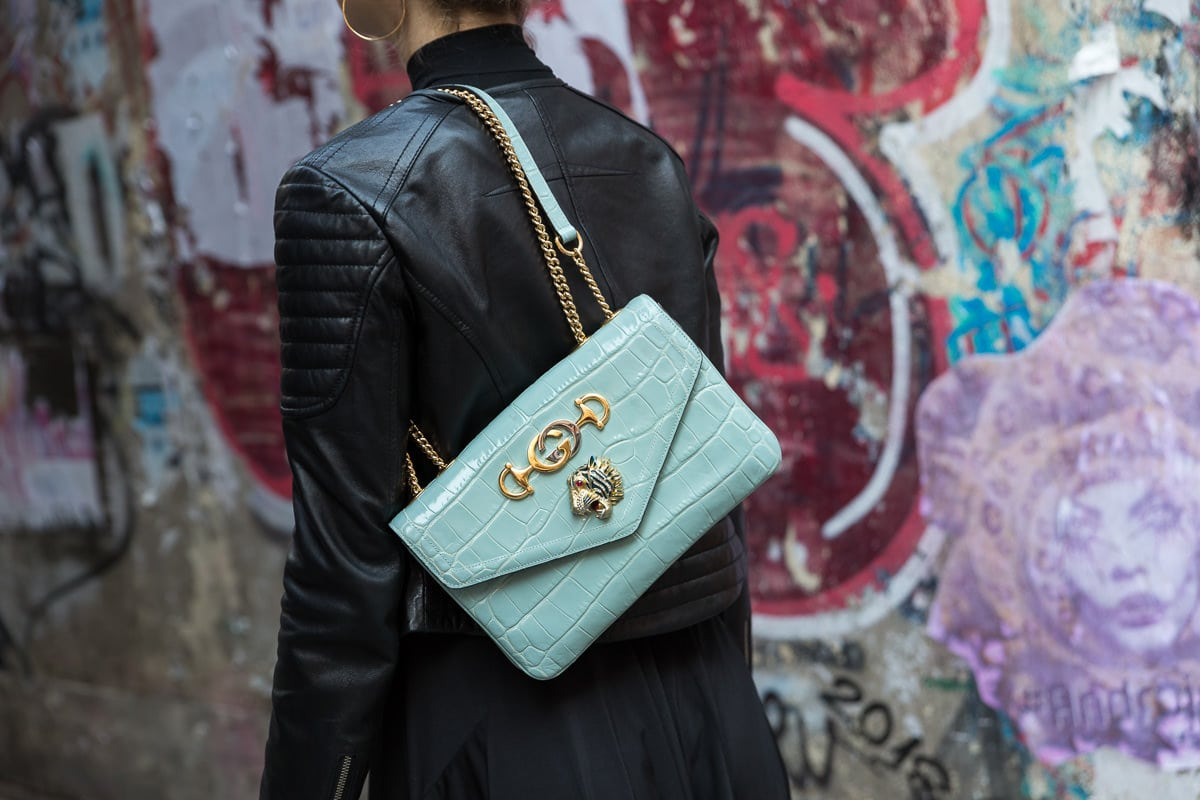 7b90b9f2b31 Introducing the Gucci Rajah Shoulder Bag - PurseBlog