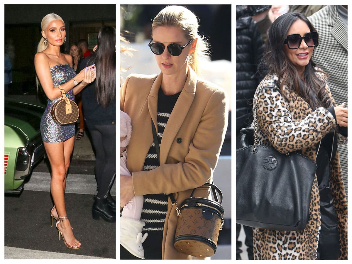 9fa00ed6b7dd83 Celebs Are Fond of Louis Vuitton, Valentino and Marc Jacobs This Week