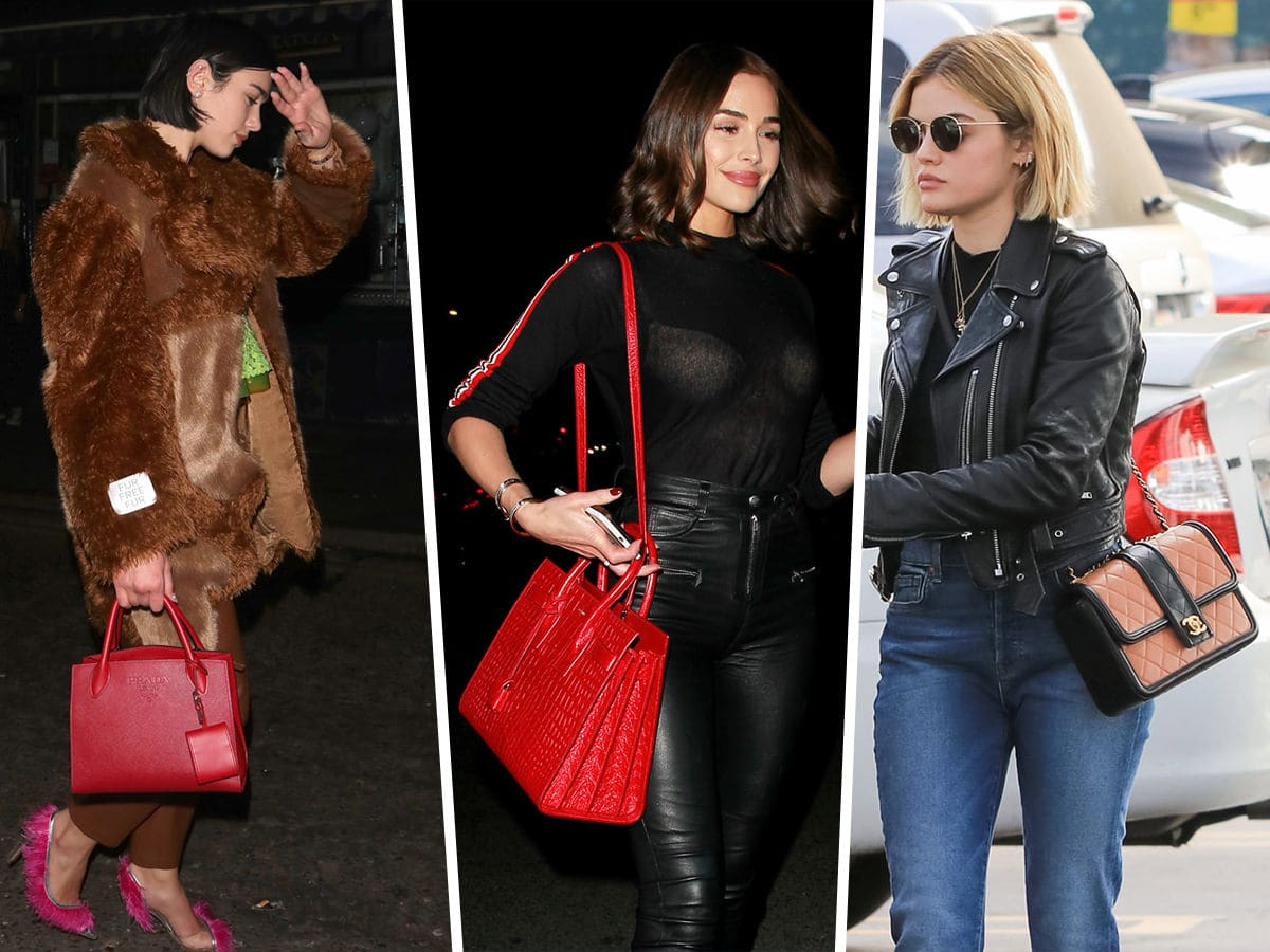 695be9c8ab61 Celebs Enjoy the Nightlife with Bags from Gucci and Saint Laurent ...
