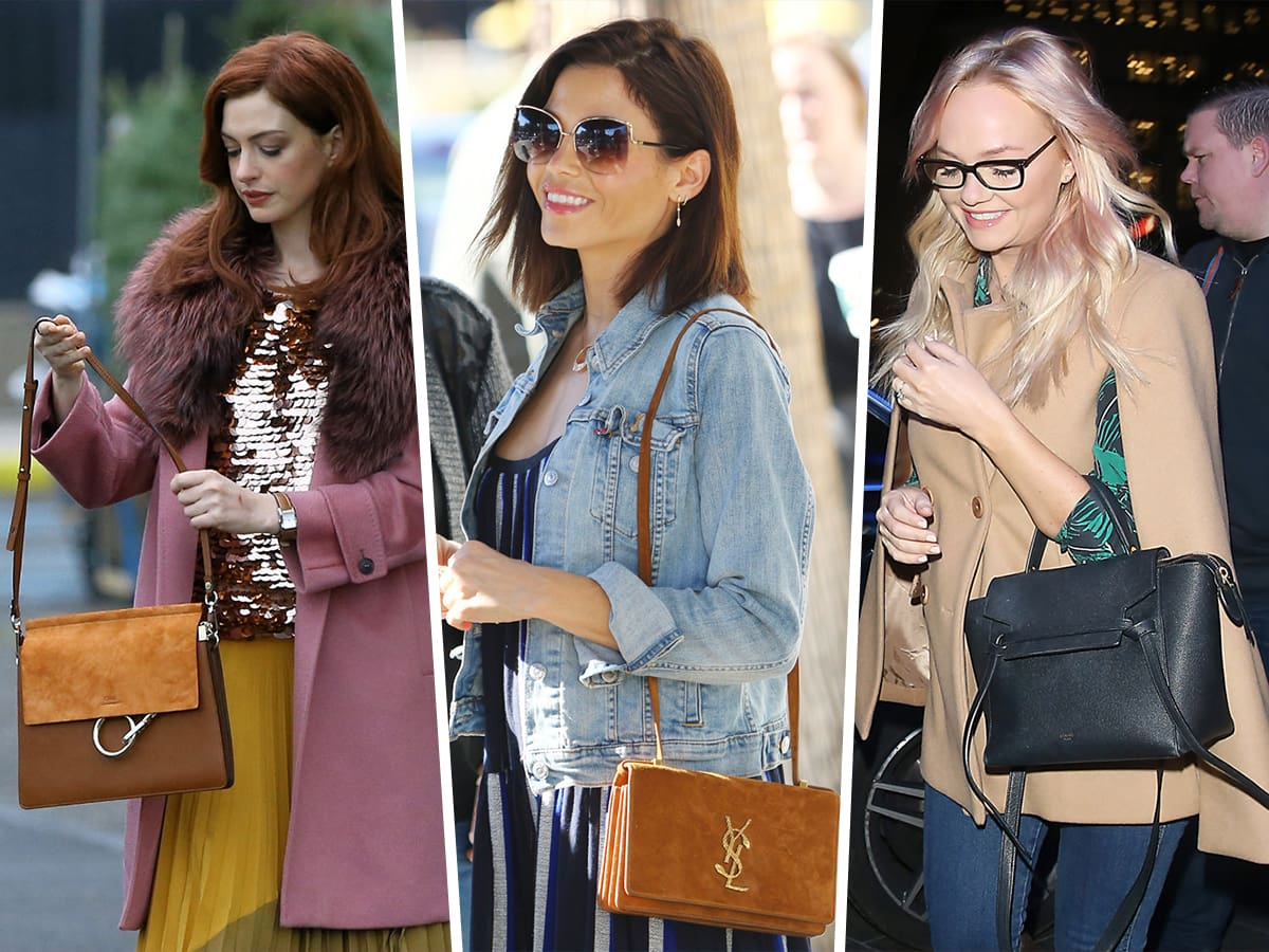 Celebs Do a Suspiciously Good Job of Showcasing Their Chloé and Saint Laurent Bags