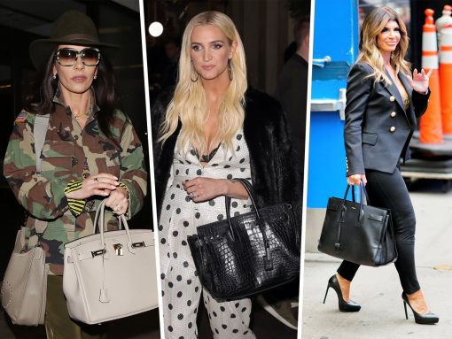Celebs Largely Stick to Birkins and Saint Laurent