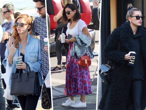 Celebs Get Fresh at the Farmers Market with Chloé, Saint Laurent & More