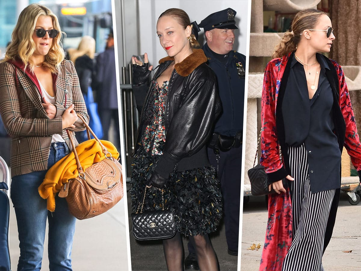 a6305c16be9f Celebs Await Their Departing Flights with Bags from Chanel, Prada and  Givenchy | PurseBlog.com | Bloglovin'