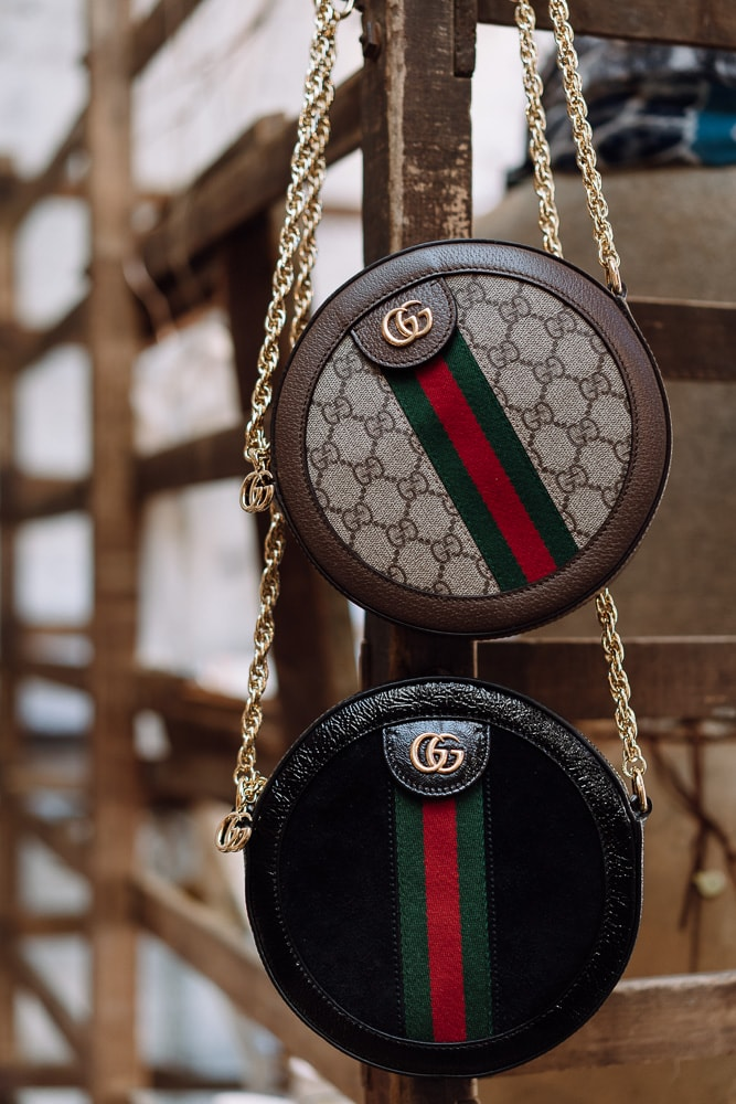 67a20e264 The Newest Must-Have is the Gucci Ophidia Mini Round GG Shoulder Bag ...
