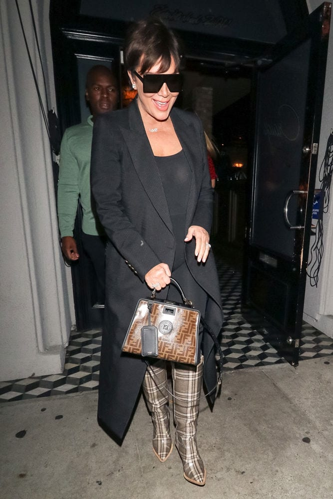 Celebs Visit Craig s Or Attend VS Fittings with Bags from Fendi ... 35da285d898f0