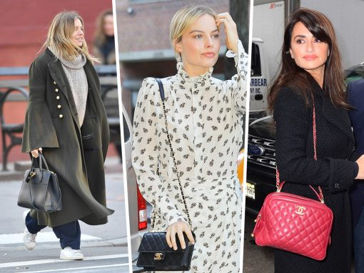 Celebs Do Promo Tours with Bags from Chanel, Mark Cross and Givenchy