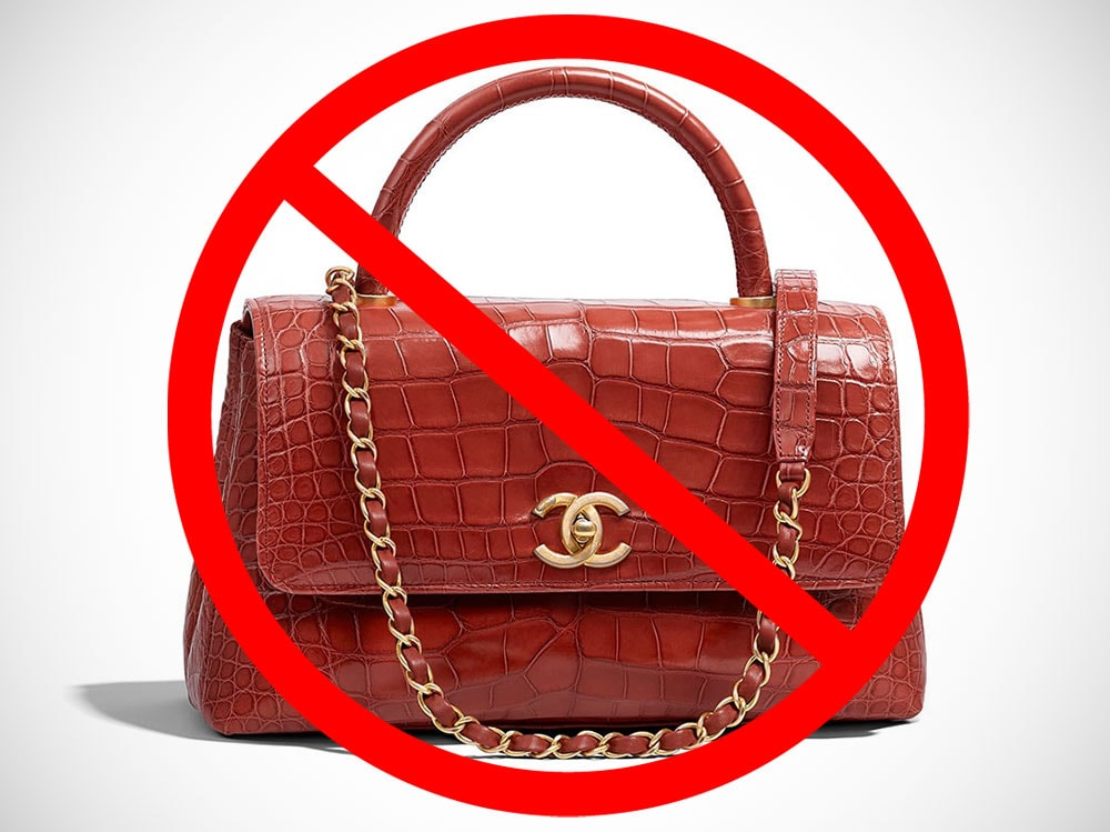 ca8dd629ccec Chanel to Ban Use of Exotic Skins Moving Forward - PurseBlog