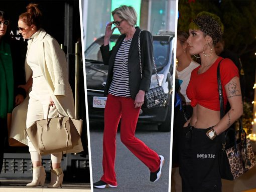 Celebs Make Their Final Rounds in Beverly Hills or Barneys with Bags from Dior, Celine and Chanel