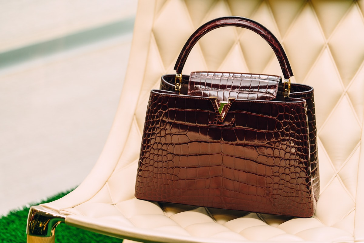 81515efee9ea Louis Vuitton Capucines MM Crocodile in Bordeaux - PurseBlog