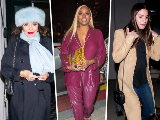Celebs Step Out with Oldies but Goodies from Saint Laurent and Givenchy