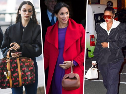 Celebs Make the Rounds with Fendi, Louis Vuitton and Gabriela Hearst