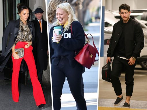 Return to Craig's: Celebs Slink Out of LA Hotspot with Bags from Ferragamo and Louis Vuitton