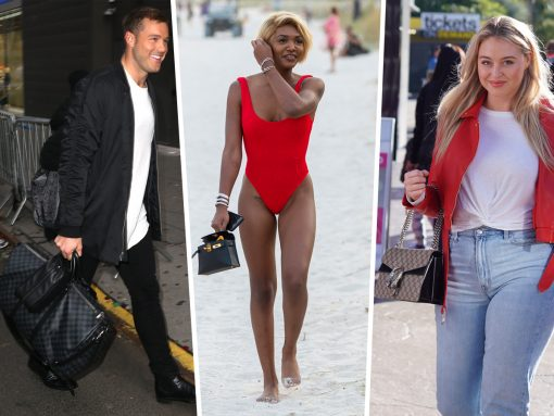 Celebs Opt for Belt Bags and Minis from Saint Laurent and L'AFSHAR