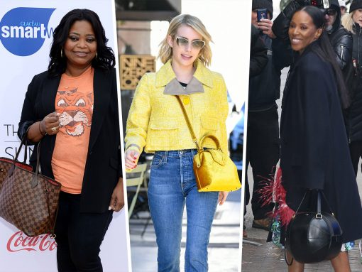 Celebs Dazzle Us with New Bags from Versace and Burberry