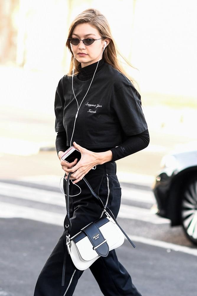 92bcf02e7148ec Men's Milan and Paris Fashion Weeks Keep the Celeb Bag Game On-Point ...