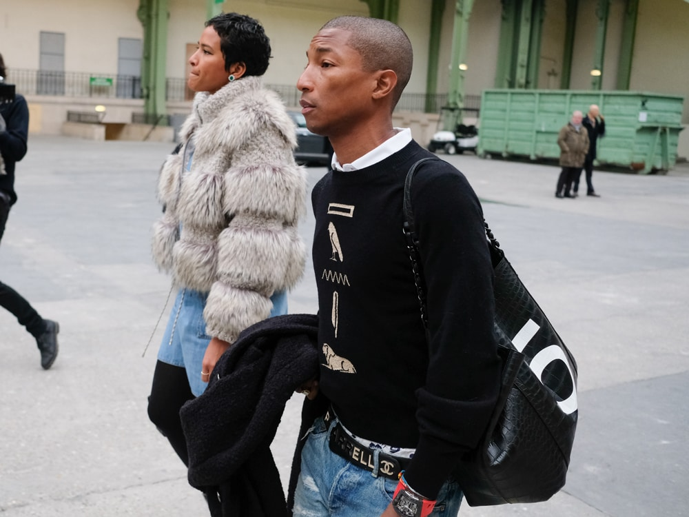 fb4307f8e Did Pharrell Williams Just Give Us a Sneak Peak at His Capsule Collection  With Chanel