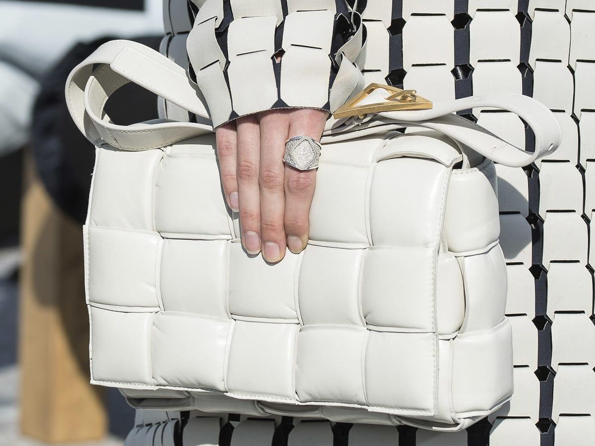 a4d3c5b0e5 See All the Bags From Daniel Lee s First Runway Show For Bottega Veneta
