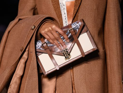 The Streetwear Craze Continues With Burberry's Fall 2019 Runway Bags
