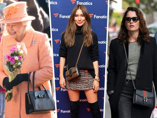 Celebs Sport Bags from Launer, Fendi and Gucci