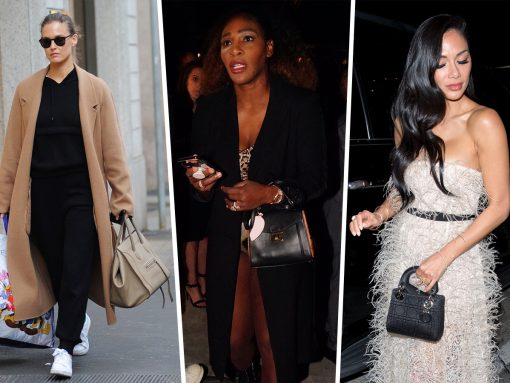 Celebs Tour Milan, Craig's Parking Lot with Prada, MCM and Chloé