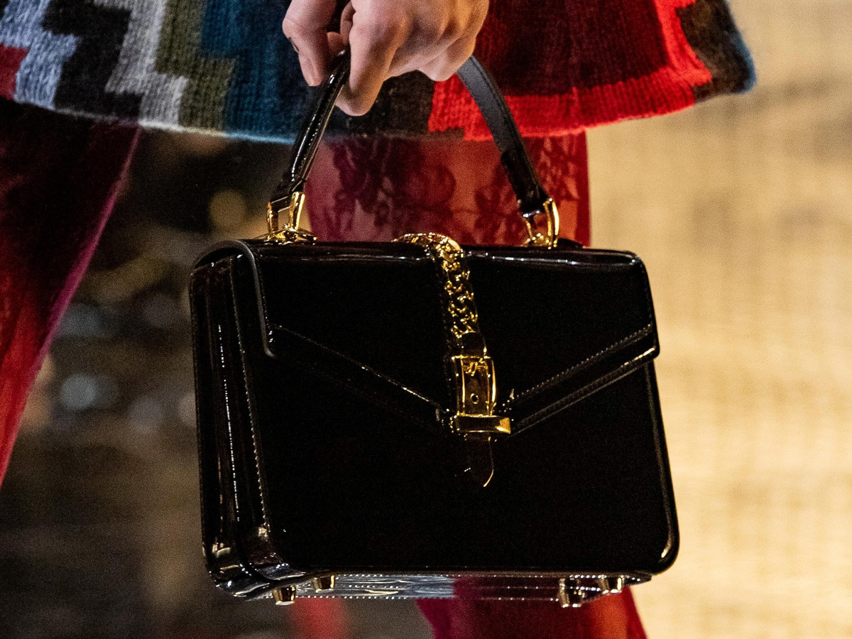 5df9ca97a8fe Get Your First Look at Gucci's Fall 2019 Bags, Straight From the Runway
