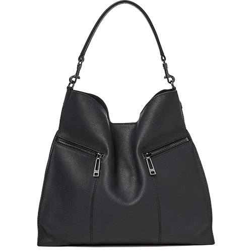 Trigger Pebbled Leather Hobo