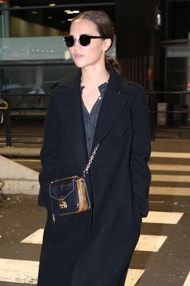 Celebs Opt For Balenciaga And Louis Vuitton Exclusively
