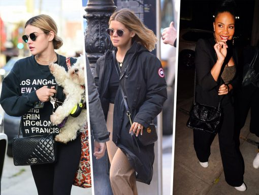 Celebs Make Their Rounds with Givenchy, Gucci and Celine