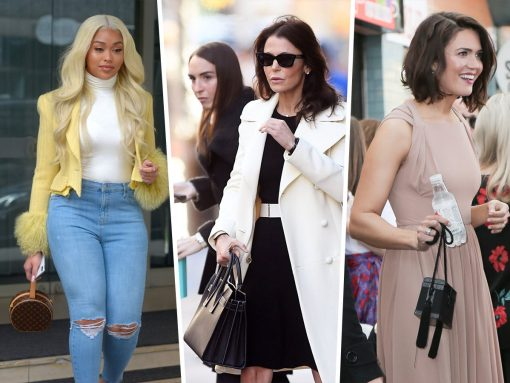 Celebs Get Down to Business with Dior, Fendi and Louis Vuitton