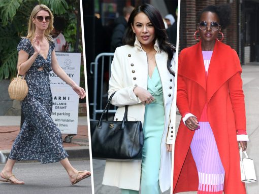 Celebs Opt for Eclectic Picks from Medea, Frame and Hayward Luxury