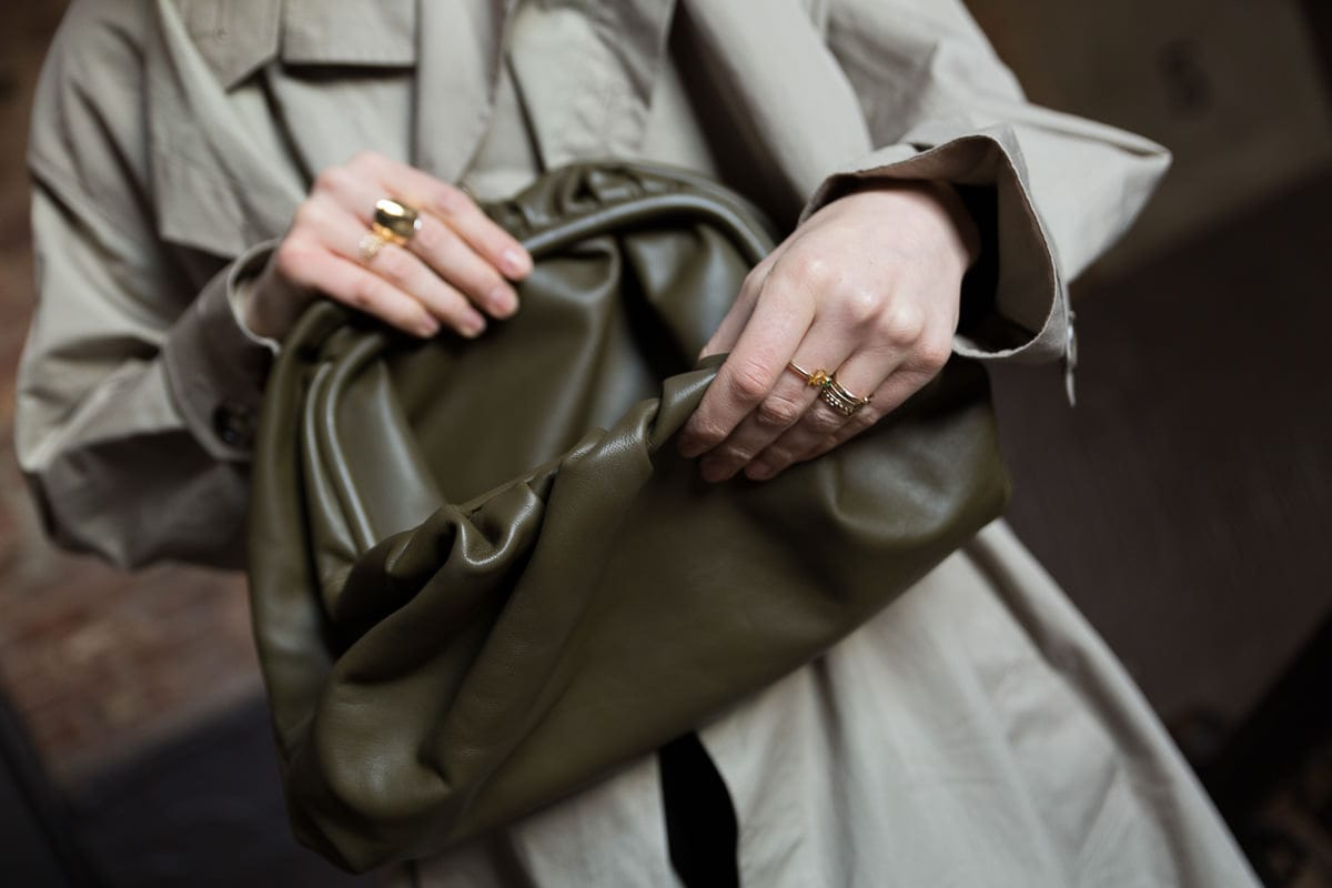 5716ed55f0 Next, Bottega Veneta introduced The Pouch in Butter Calf, and true to its  name the leather is incredibly soft and smooth. This version of The Pouch  retails ...