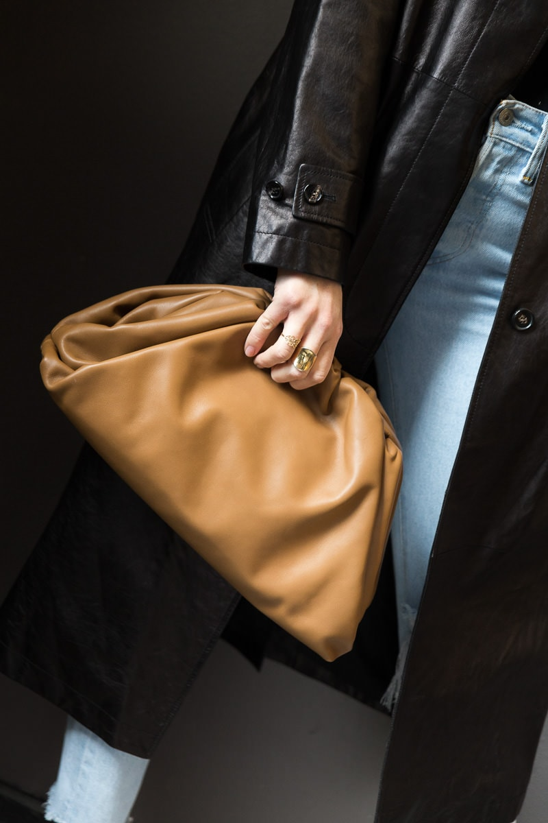 e28f12a74e First up, for Spring 2019 Bottega Veneta introduced us to The Pouch. The  Pouch is Lee's take on a classic clutch, but in an overly exaggerated way.