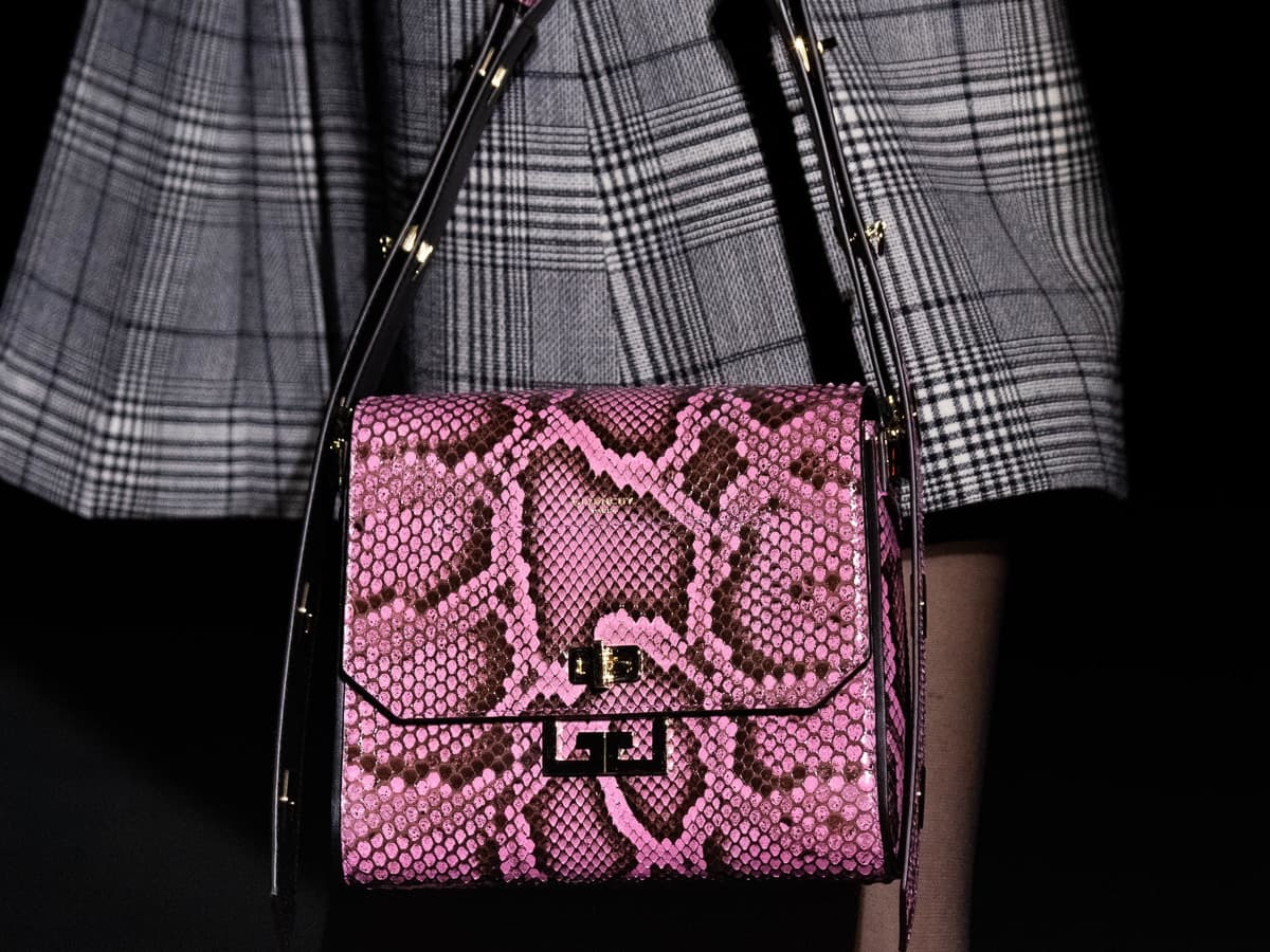 Givenchy Introduces Its Newest Bag On The Fall 2019 Runway
