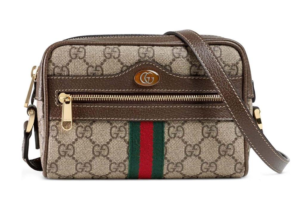 ef86e62e8f4 Gucci Ophisia GG Supreme Crossbody Bag - PurseBlog