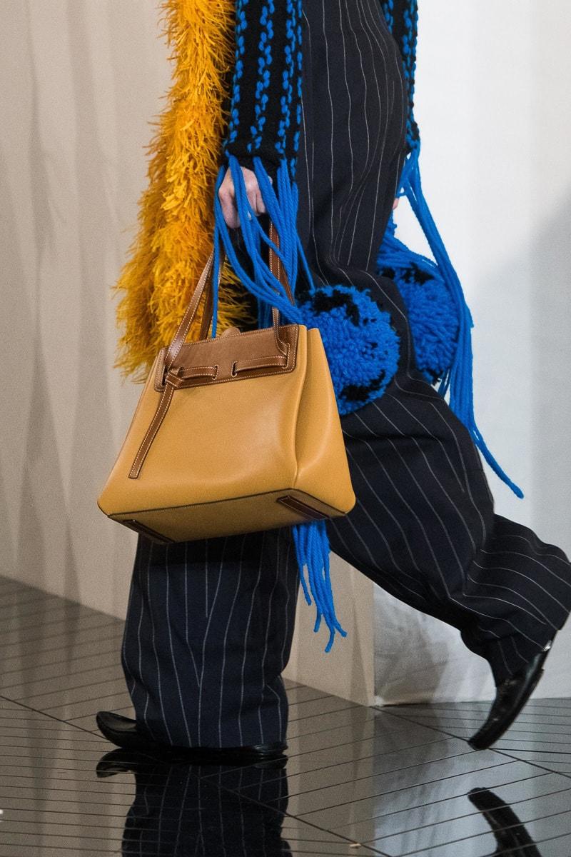 A Close Up Look At Loewe S Fall 2019 Runway Bags Purseblog