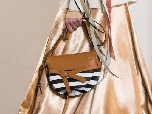A Close Up Look At Loewe's Fall 2019 Runway Bags